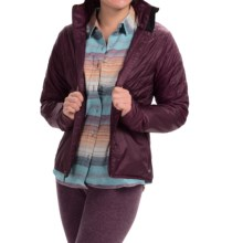Toad&Co Airvoyant Quilted PrimaLoft® Jacket - Insulated (For Women) in Tyrian Purple - Closeouts