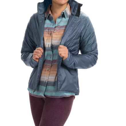 Toad&Co Airvoyant Quilted PrimaLoft® Jacket - Insulated (For Women) in Vintage Indigo - Closeouts
