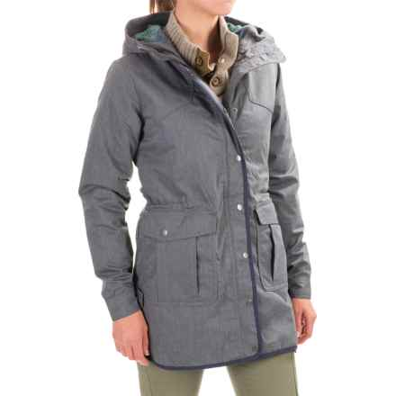 Toad&Co Bancroft Hooded Parka - Insulated (For Women) in Charcoal Heather - Closeouts