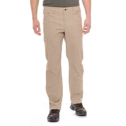 Toad&Co Barrow Pants - UPF 40+ (For Men) in Buckskin - Closeouts