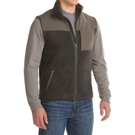 Toad&Co Brickland Fleece Vest - Full Zip (For Men) in Black - Closeouts