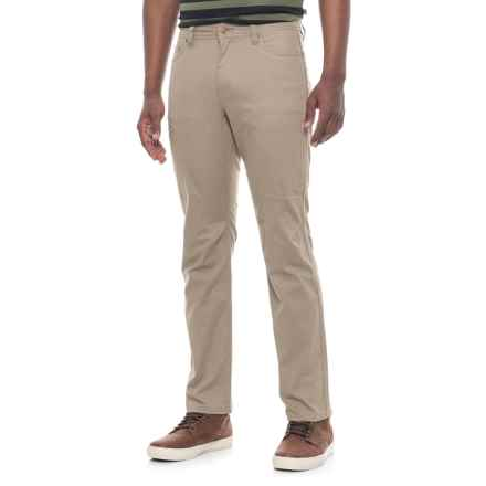 Toad&Co Cache Cargo Pants - UPF 40+, Organic Cotton (For Men) in Dark Chino - Closeouts
