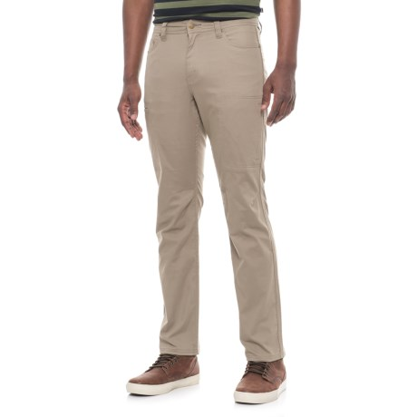 Toad&Co Cache Cargo Pants - UPF 40+, Organic Cotton (For Men) in Dark Chino