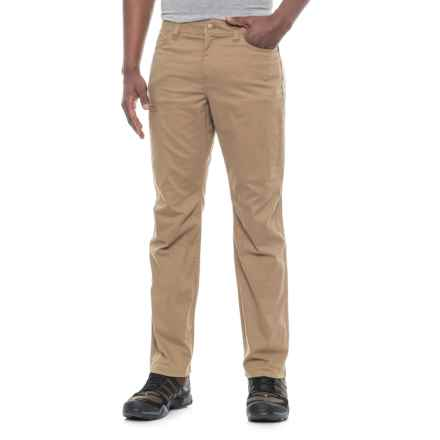 Toad&Co Cache Cargo Pants - UPF 40+, Organic Cotton (For Men) in Honey Brown - Closeouts