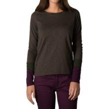 Toad&Co Carmina T-Shirt - Organic Cotton-TENCEL®, Long Sleeve (For Women) in Turkish Coffee - Closeouts