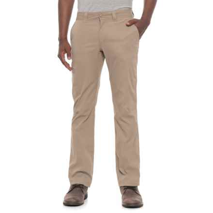 Toad&Co Contrail Pants - UPF 40+ (For Men) in Dark Chino - Closeouts