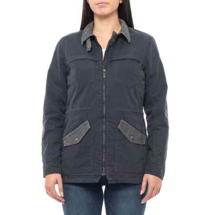 Toad&Co Corbett Canvas Jacket (For Women) in Nightsky - Closeouts
