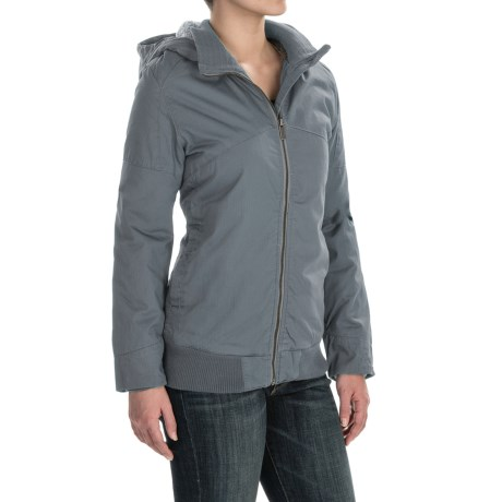 Toad&Co Cottonwood Jacket - Organic Cotton (For Women) in Storm Grey