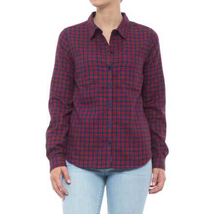 Toad&Co Dakotah Plaid Shirt - UPF 40, Long Sleeve (For Women) in Sanguine Red - Closeouts