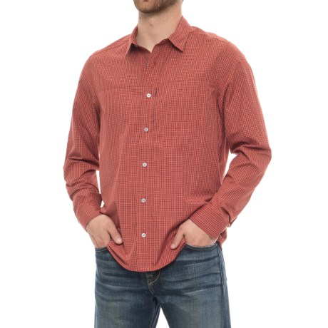 Toad&Co Debug Quick-Dry Shirt - UPF 40+, Long Sleeve (For Men) in Red Clay