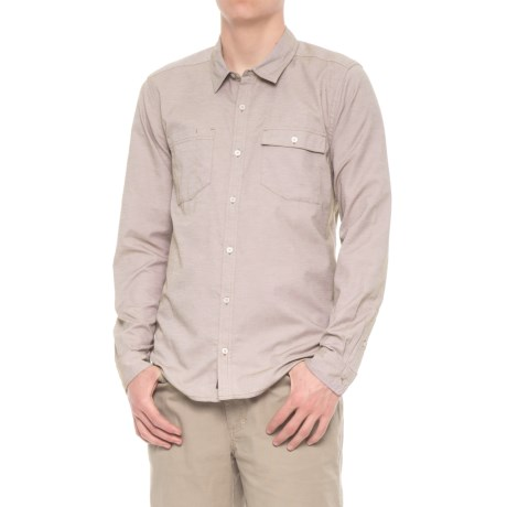 Toad&Co Debug Riverbound Shirt - UPF 40+, Long Sleeve (For Men) in Seal Brown