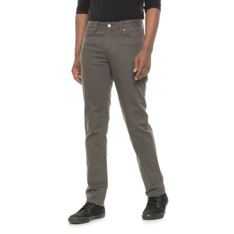 Toad&Co Drover Lean Denim Jeans (For Men) in Smoke