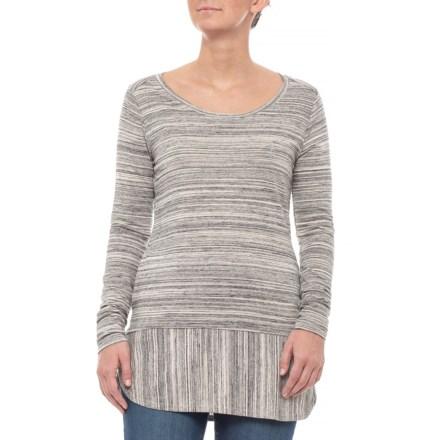 1392c5d0 Toad&Co Egret Imogene Tunic Shirt - Organic Cotton, Long Sleeve (For Women)  in