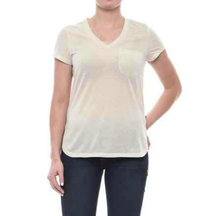Toad&Co Ember T-Shirt - Short Sleeve (For Women) in Pelican - Closeouts