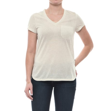 Toad&Co Ember T-Shirt - Short Sleeve (For Women) in Pelican
