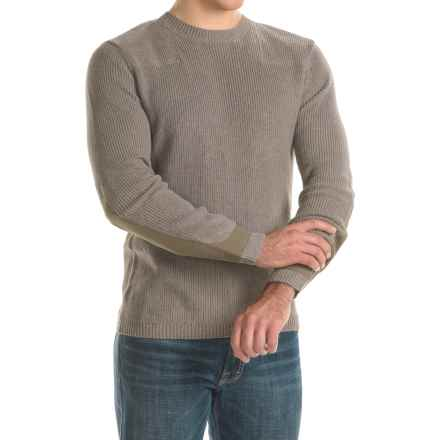 Toad&Co Emmett Sweater - Organic Cotton (For Men) in Jeep - Closeouts