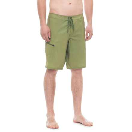 Toad&Co Fortuna Boardshorts - UPF 40+ (For Men) in Juniper - Overstock
