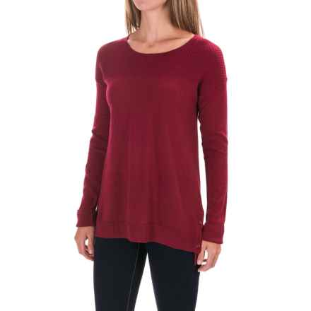 Toad&Co. Gypsy Sweater - Merino Wool Blend (For Women) in House Red - Closeouts