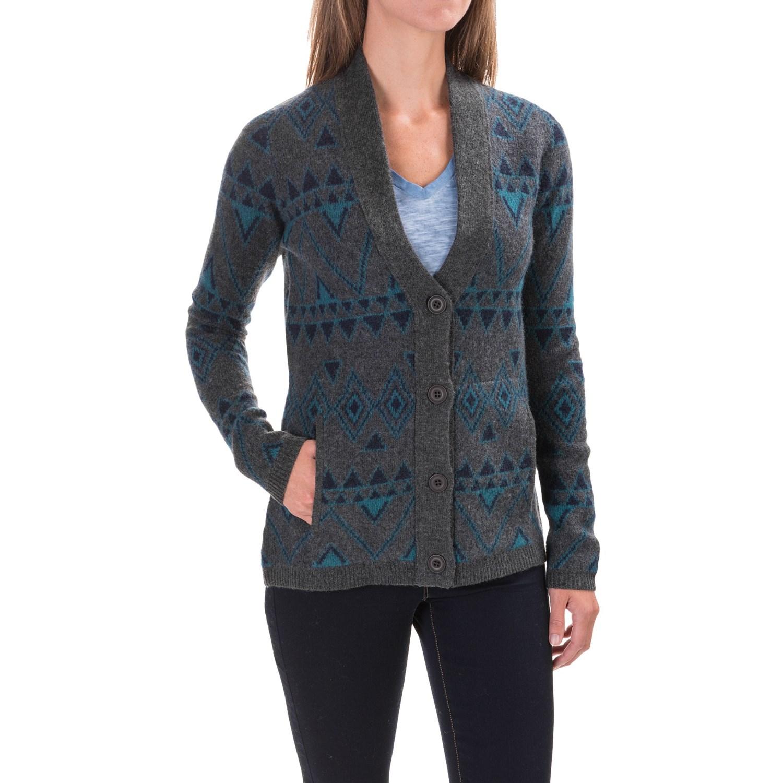 Toad&Co Heartfelt Diamond Cardigan Sweater (For Women) - Save 45%