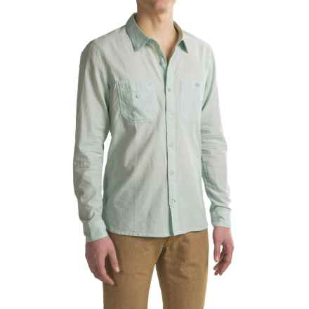 Toad&Co Honcho Shirt - Organic Cotton, Long Sleeve (For Men) in Arctic - Closeouts