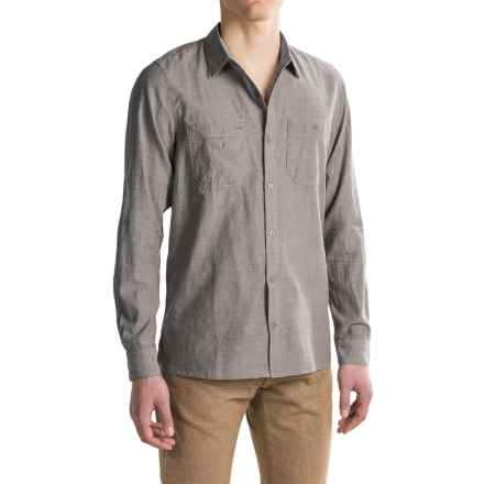 Toad&Co Honcho Shirt - Organic Cotton, Long Sleeve (For Men) in Jeep - Closeouts