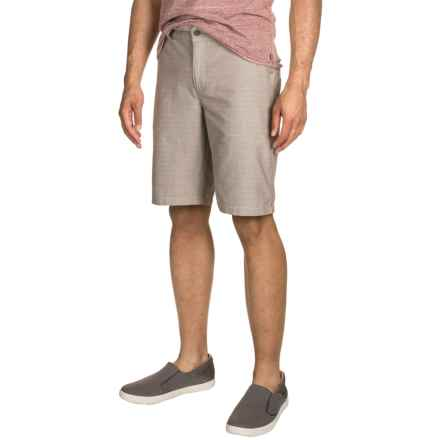 Toad&Co Jackfish Shorts - Organic Cotton (For Men) in Falcon Brown - Closeouts