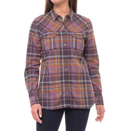 Toad&Co Jacquette Overshirt - Long Sleeve(For Women) in Nightshade - Closeouts