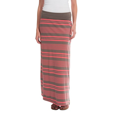 ToadandCo Keyboard Maxi Skirt Organic Cotton Modal For Women
