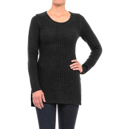 Toad&Co Kinley Tunic Sweater - Lambswool (For Women) in Black - Closeouts