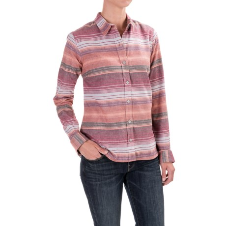 Toad&Co Lightfoot Flannel Shirt - Organic Cotton, Long Sleeve (For Women)