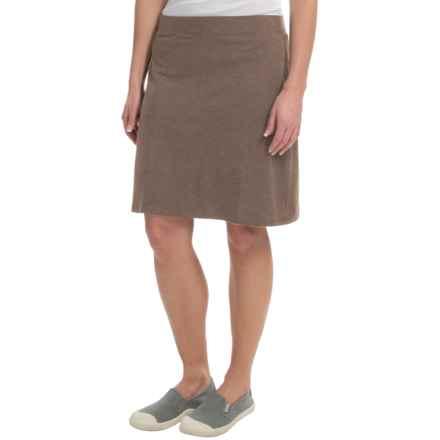 Toad&Co Lobelia Skirt - Organic Cotton-TENCEL® (For Women) in Falcon Brown - Closeouts