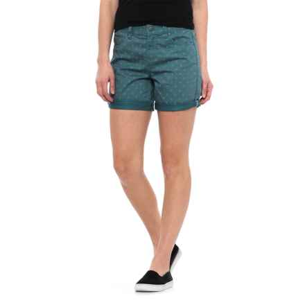 Toad&Co Lola Shorts - Organic Cotton (For Women) in Hydro Polka Dot Print - Closeouts