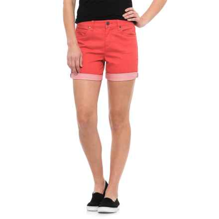 Toad&Co Lola Shorts - Organic Cotton (For Women) in Spiced Coral - Closeouts
