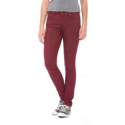 Toad&Co Lola Skinny Jeans (For Women) in Mahogany - Closeouts