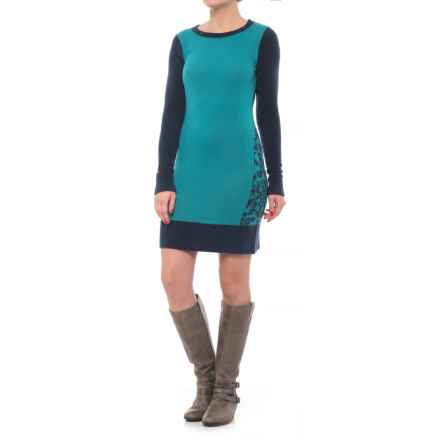 Toad&Co Lucianna Sweater Dress - Merino Wool (For Women) in Deep Navy - Closeouts
