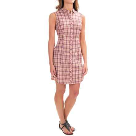 Toad&Co Maneuver Shirtdress - Organic Cotton, Sleeveless (For Women) in Sorbet - Closeouts