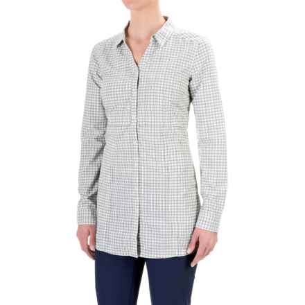 Toad&Co Marvista Tunic Shirt - UPF 25+, Long Sleeve (For Women) in Light Ash - Closeouts