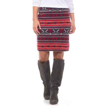 Toad&Co Merritt Sweater Skirt - Merino Wool (For Women) in Deep Navy - Closeouts