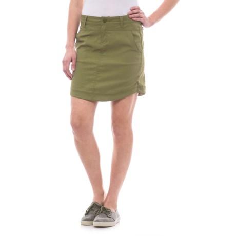 Toad&Co Metrolite Twill Travel Skirt - UPF 40+ (For Women) in Juniper