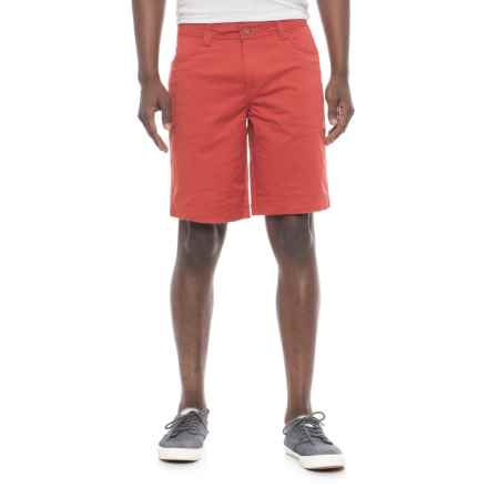 """Toad&Co Mission Ridge 10"""" Shorts - UPF 40+, Organic Cotton Blend (For Men) in Red Clay - Overstock"""