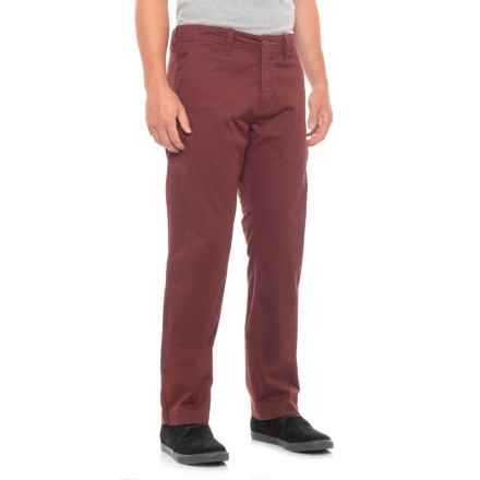 Toad&Co Mission Ridge Pants - Organic Cotton (For Men) in Mahogany - Closeouts