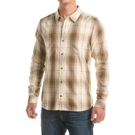 a69c115c Toad&Co Mojo Shirt - Organic Cotton, Long Sleeve (For Men) in Polar Bear