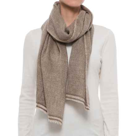 Toad&Co Namche Wool Scarf (For Women) in Natural - Closeouts