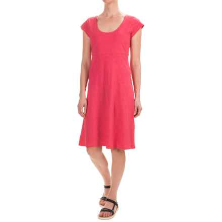 Toad&Co Nena Dress - Organic Cotton, Short Sleeve (For Women) in Sorbet - Closeouts