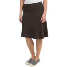 Toad&Co Oblique Skirt - Organic Cotton-TENCEL®(For Women) in Turkish Coffee - Closeouts