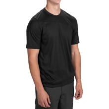 Toad&Co Onrush T-Shirt - Short Sleeve (For Men) in Black - Closeouts
