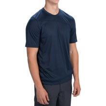 Toad&Co Onrush T-Shirt - Short Sleeve (For Men) in Deep Navy - Closeouts