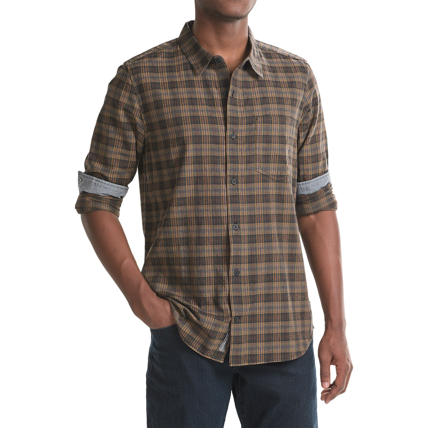 Toad co open air shirt for men save 49 for Long sleeve open shirt