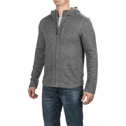 Toad&Co Outbound Fleece Hoodie (For Men) in Charcoal Heather - Closeouts