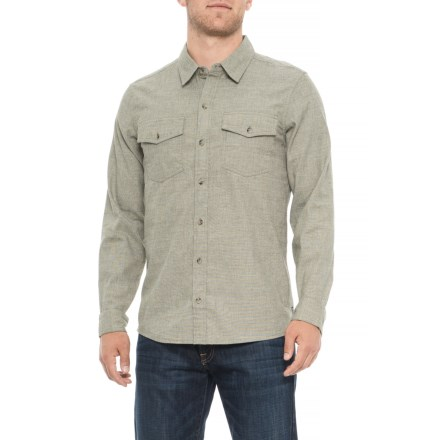 295cae23e612 Toad&Co Oxford Vault Button-Down Shirt - Long Sleeve (For Men) in Salt